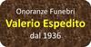Onoranze Funebri Valerio Espedito dal 1936